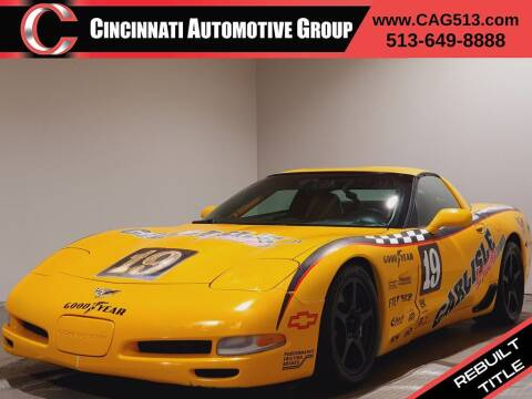 2003 Chevrolet Corvette for sale at Cincinnati Automotive Group in Lebanon OH