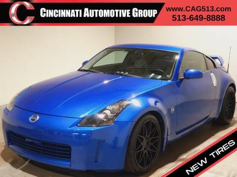 2005 Nissan 350Z for sale at Cincinnati Automotive Group in Lebanon OH