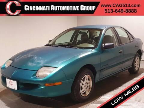 1996 Pontiac Sunfire for sale at Cincinnati Automotive Group in Lebanon OH