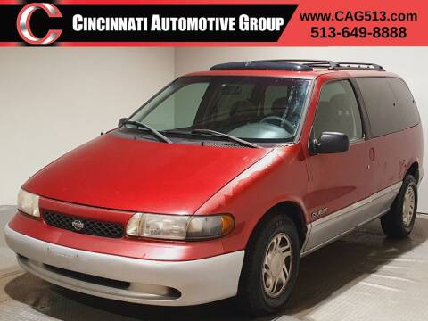 1998 Nissan Quest for sale at Cincinnati Automotive Group in Lebanon OH