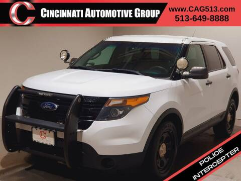 2013 Ford Explorer for sale at Cincinnati Automotive Group in Lebanon OH