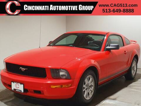 2007 Ford Mustang for sale at Cincinnati Automotive Group in Lebanon OH