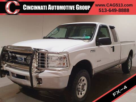 2006 Ford F-250 Super Duty for sale at Cincinnati Automotive Group in Lebanon OH