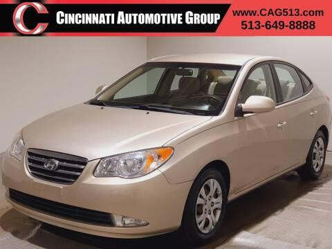2009 Hyundai Elantra for sale at Cincinnati Automotive Group in Lebanon OH