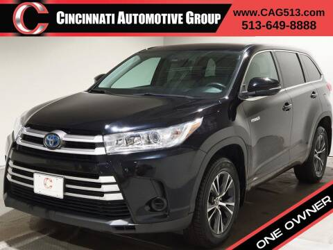 2018 Toyota Highlander Hybrid for sale at Cincinnati Automotive Group in Lebanon OH