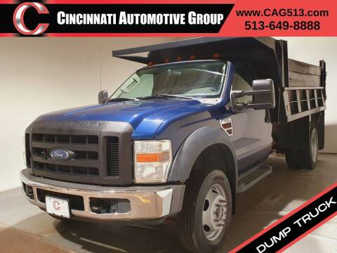 2008 Ford F-550 Super Duty for sale at Cincinnati Automotive Group in Lebanon OH