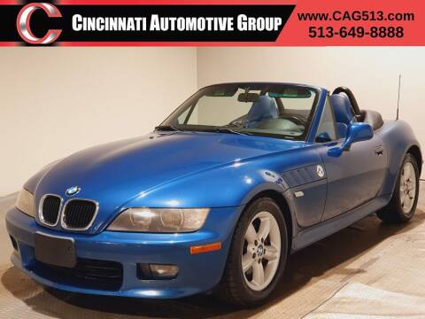2000 BMW Z3 for sale at Cincinnati Automotive Group in Lebanon OH