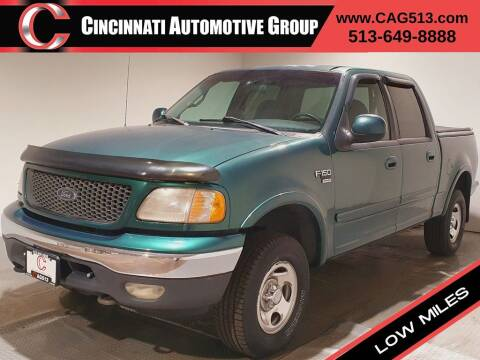 2001 Ford F-150 for sale at Cincinnati Automotive Group in Lebanon OH