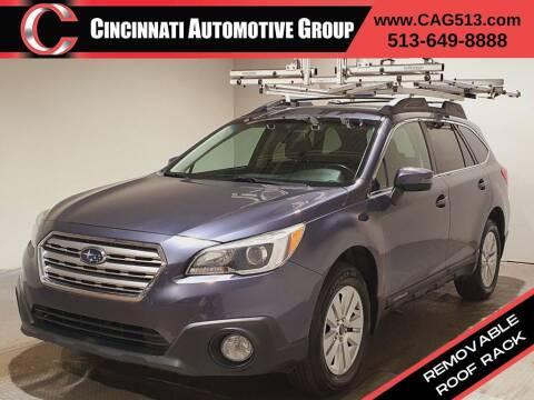 2015 Subaru Outback for sale at Cincinnati Automotive Group in Lebanon OH