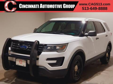 2016 Ford Explorer for sale at Cincinnati Automotive Group in Lebanon OH