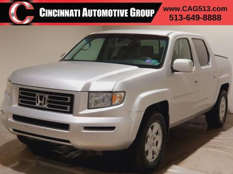 2006 Honda Ridgeline for sale at Cincinnati Automotive Group in Lebanon OH