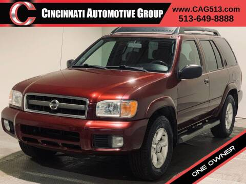 2004 Nissan Pathfinder for sale at Cincinnati Automotive Group in Lebanon OH