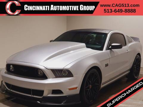 2014 Ford Mustang for sale at Cincinnati Automotive Group in Lebanon OH