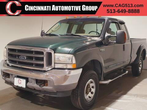 2003 Ford F-250 Super Duty for sale at Cincinnati Automotive Group in Lebanon OH