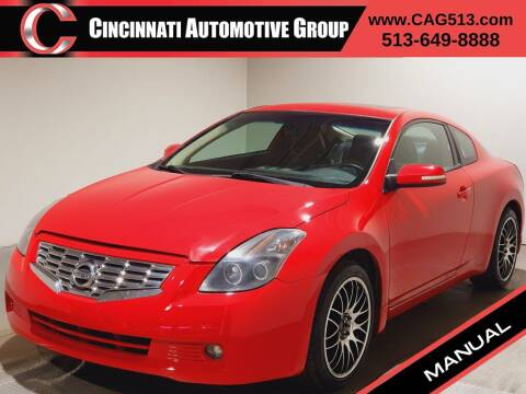 2008 Nissan Altima for sale at Cincinnati Automotive Group in Lebanon OH