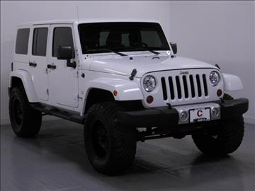 2012 Jeep Wrangler Unlimited for sale in Middletown, OH