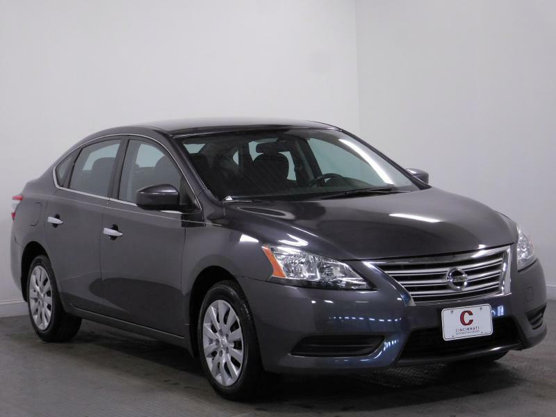 2015 Nissan Sentra for sale at Cincinnati Automotive Group in Middletown OH