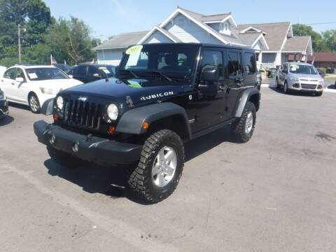 2011 Jeep Wrangler Unlimited for sale at Rob Co Automotive LLC in Springfield TN
