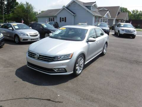 2017 Volkswagen Passat for sale at Rob Co Automotive LLC in Springfield TN