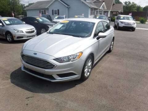 2017 Ford Fusion for sale at Rob Co Automotive LLC in Springfield TN