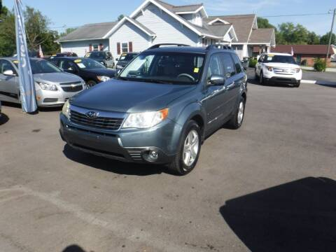 2009 Subaru Forester for sale at Rob Co Automotive LLC in Springfield TN