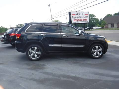 2011 Jeep Grand Cherokee for sale at Rob Co Automotive LLC in Springfield TN