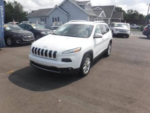 2016 Jeep Cherokee for sale at Rob Co Automotive LLC in Springfield TN