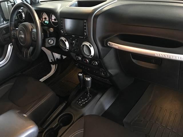 2013 Jeep Wrangler Unlimited 4x4 Sahara 4dr SUV - Houston TX