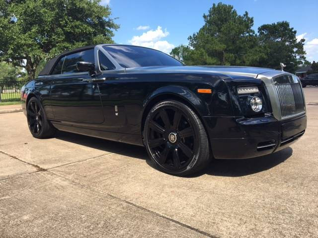 2008 Rolls-Royce Phantom Drophead Coupe 2dr Convertible - Houston TX