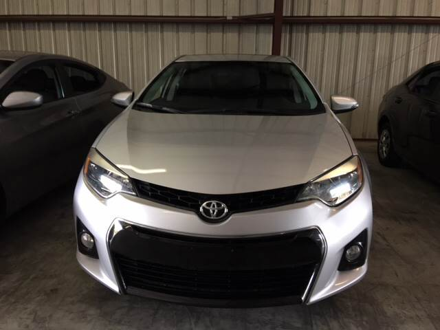 2015 Toyota Corolla S Premium 4dr Sedan - Houston TX