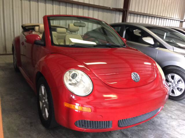 2007 Volkswagen New Beetle 2.5 2dr Convertible (2.5L I5 6A) - Houston TX