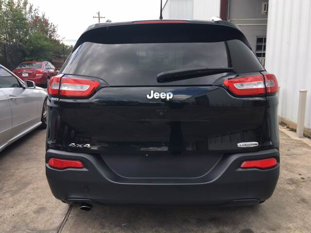 2015 Jeep Cherokee 4x4 Latitude 4dr SUV - Houston TX