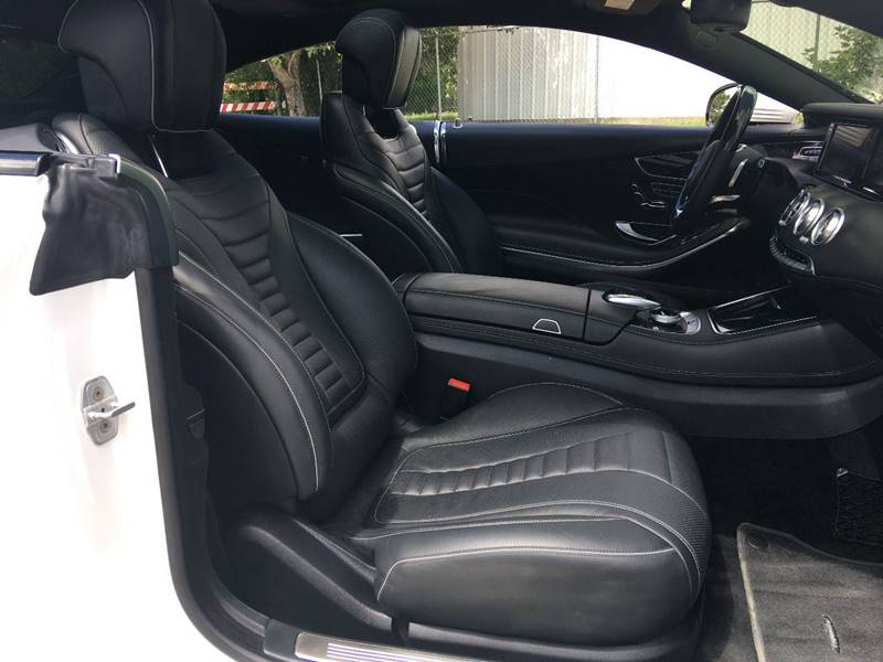 2015 Mercedes-Benz S-Class AWD S 550 4MATIC 2dr Coupe - Houston TX