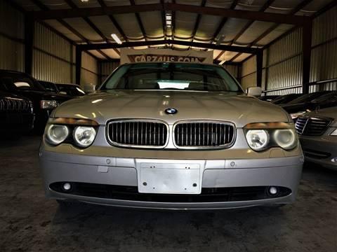 2004 BMW 7 Series