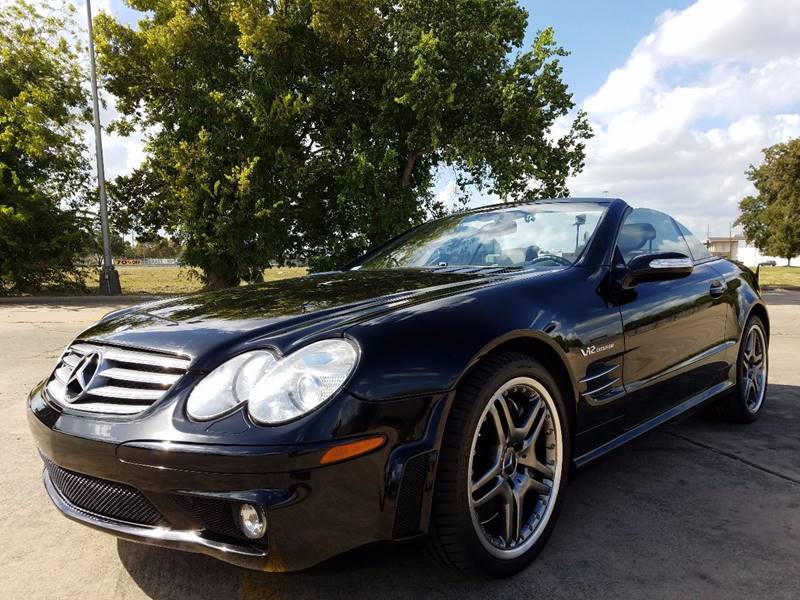 2005 mercedes benz sl class sl65 amg 2dr convertible in for Mercedes benz dealer houston