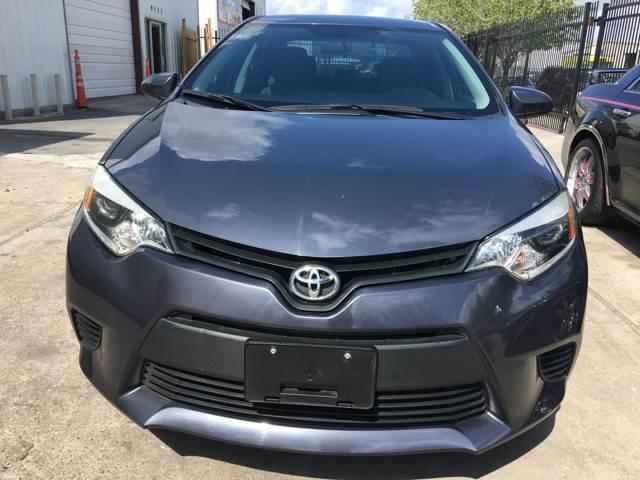 2014 Toyota Corolla LE 4dr Sedan - Houston TX