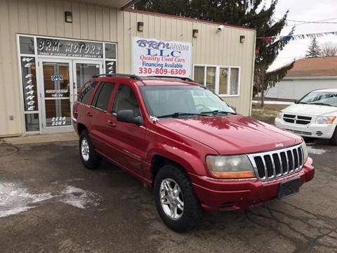 2002 Jeep Grand Cherokee for sale in North Lawrence, OH