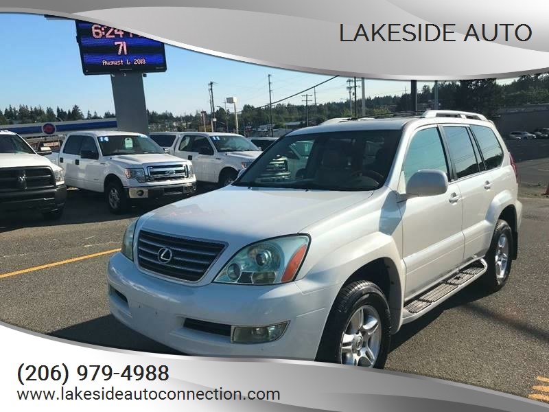 2005 Lexus GX 470 For Sale At Lakeside Auto In Lynnwood WA