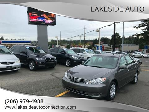 2006 Toyota Camry for sale at Lakeside Auto in Lynnwood WA