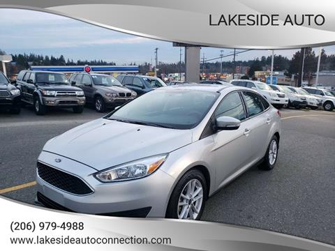 2017 Ford Focus for sale at Lakeside Auto in Lynnwood WA