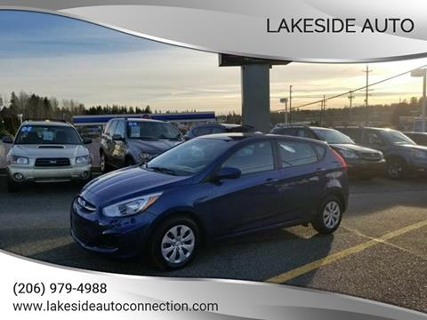 2017 Hyundai Accent for sale at Lakeside Auto in Lynnwood WA