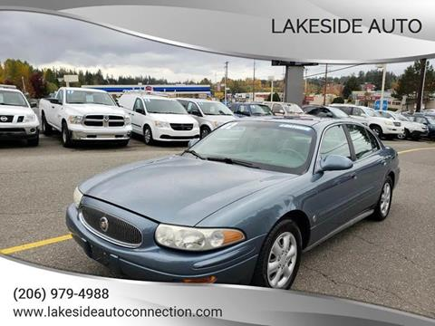 2002 Buick LeSabre for sale at Lakeside Auto in Lynnwood WA