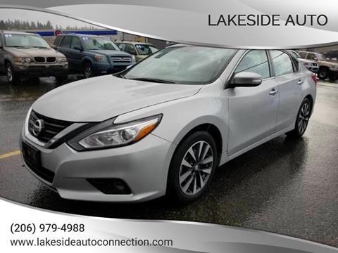 2017 Nissan Altima for sale in Lynnwood, WA