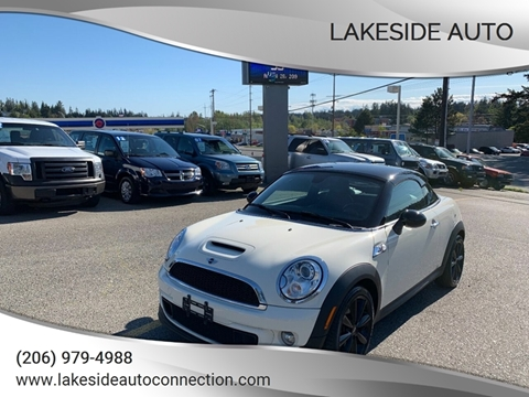 2012 MINI Cooper Coupe for sale in Lynnwood, WA
