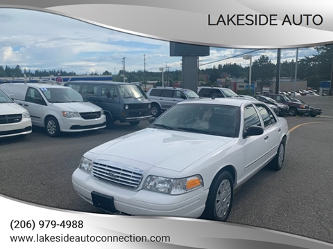 2010 Ford Crown Victoria for sale at Lakeside Auto in Lynnwood WA