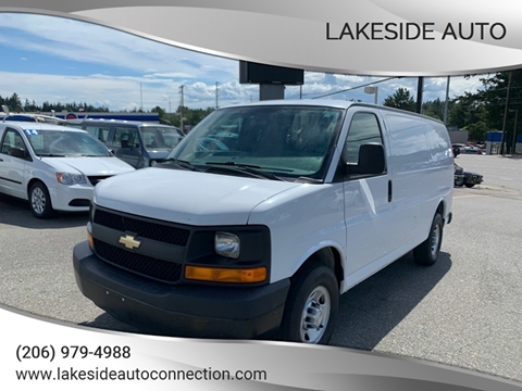 2015 Chevrolet Express Cargo for sale at Lakeside Auto in Lynnwood WA