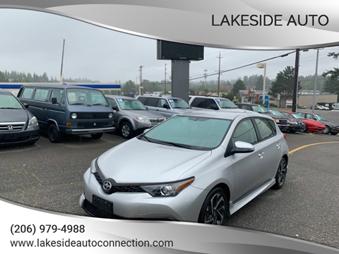 2016 Scion iM for sale at Lakeside Auto in Lynnwood WA