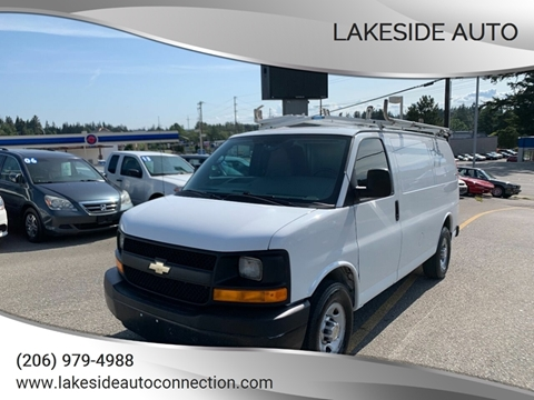 2012 Chevrolet Express Cargo for sale at Lakeside Auto in Lynnwood WA