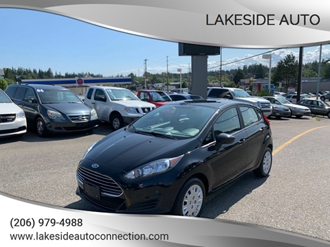 2016 Ford Fiesta for sale at Lakeside Auto in Lynnwood WA
