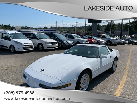 1992 Chevrolet Corvette for sale at Lakeside Auto in Lynnwood WA